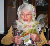 mom with her scarf christmas 2010.jpg